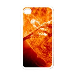 Spectacular Solar Prominence Apple Iphone 4 Case (white)