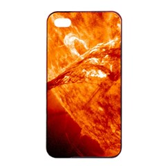 Spectacular Solar Prominence Apple Iphone 4/4s Seamless Case (black)