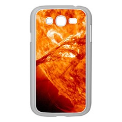 Spectacular Solar Prominence Samsung Galaxy Grand Duos I9082 Case (white)