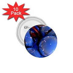 Spheres With Horns 3d 1 75  Buttons (10 Pack)