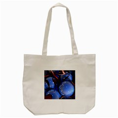 Spheres With Horns 3d Tote Bag (cream)