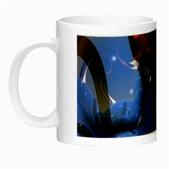 Spheres With Horns 3d Night Luminous Mugs