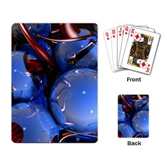 Spheres With Horns 3d Playing Card