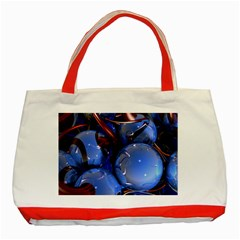 Spheres With Horns 3d Classic Tote Bag (red)