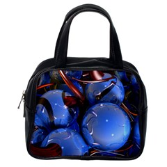 Spheres With Horns 3d Classic Handbags (one Side)