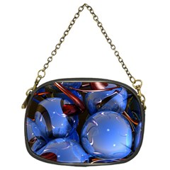 Spheres With Horns 3d Chain Purses (one Side)