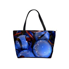 Spheres With Horns 3d Shoulder Handbags