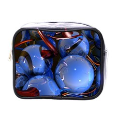 Spheres With Horns 3d Mini Toiletries Bags