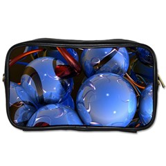 Spheres With Horns 3d Toiletries Bags 2 Side