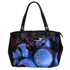 Spheres With Horns 3d Office Handbags (2 Sides)