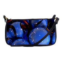Spheres With Horns 3d Shoulder Clutch Bags