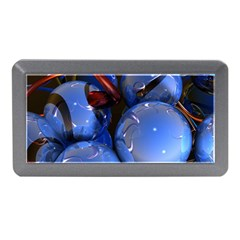 Spheres With Horns 3d Memory Card Reader (mini)