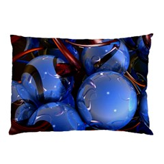 Spheres With Horns 3d Pillow Case (two Sides)