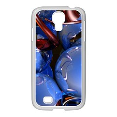 Spheres With Horns 3d Samsung Galaxy S4 I9500/ I9505 Case (white)