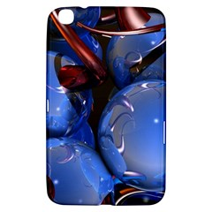 Spheres With Horns 3d Samsung Galaxy Tab 3 (8 ) T3100 Hardshell Case
