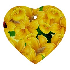 Springs First Arrivals Heart Ornament (two Sides)