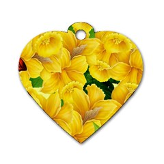 Springs First Arrivals Dog Tag Heart (two Sides)