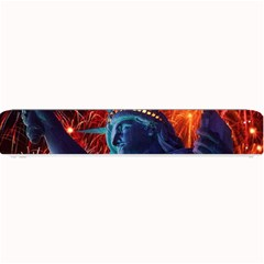 Statue Of Liberty Fireworks At Night United States Of America Small Bar Mats