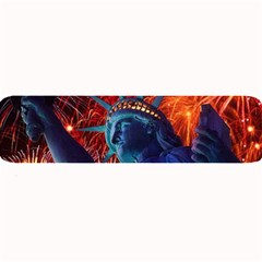 Statue Of Liberty Fireworks At Night United States Of America Large Bar Mats