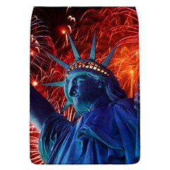 Statue Of Liberty Fireworks At Night United States Of America Flap Covers (l)