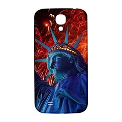 Statue Of Liberty Fireworks At Night United States Of America Samsung Galaxy S4 I9500/i9505  Hardshell Back Case