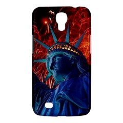 Statue Of Liberty Fireworks At Night United States Of America Samsung Galaxy Mega 6 3  I9200 Hardshell Case
