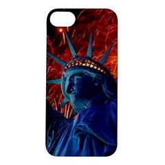 Statue Of Liberty Fireworks At Night United States Of America Apple Iphone 5s/ Se Hardshell Case