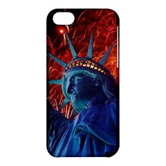 Statue Of Liberty Fireworks At Night United States Of America Apple Iphone 5c Hardshell Case