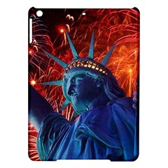Statue Of Liberty Fireworks At Night United States Of America Ipad Air Hardshell Cases