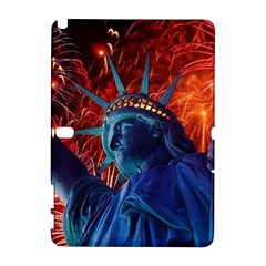 Statue Of Liberty Fireworks At Night United States Of America Galaxy Note 1