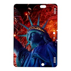 Statue Of Liberty Fireworks At Night United States Of America Kindle Fire Hdx 8 9  Hardshell Case