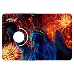 Statue Of Liberty Fireworks At Night United States Of America Kindle Fire Hdx Flip 360 Case