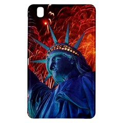 Statue Of Liberty Fireworks At Night United States Of America Samsung Galaxy Tab Pro 8 4 Hardshell Case