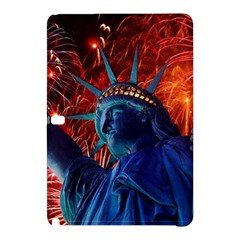 Statue Of Liberty Fireworks At Night United States Of America Samsung Galaxy Tab Pro 12 2 Hardshell Case