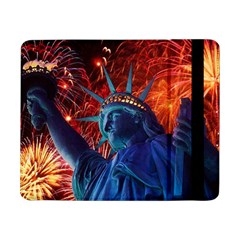Statue Of Liberty Fireworks At Night United States Of America Samsung Galaxy Tab Pro 8 4  Flip Case