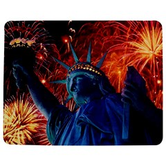 Statue Of Liberty Fireworks At Night United States Of America Jigsaw Puzzle Photo Stand (Rectangular)