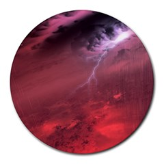 Storm Clouds And Rain Molten Iron May Be Common Occurrences Of Failed Stars Known As Brown Dwarfs Round Mousepads