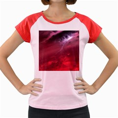 Storm Clouds And Rain Molten Iron May Be Common Occurrences Of Failed Stars Known As Brown Dwarfs Women s Cap Sleeve T Shirt