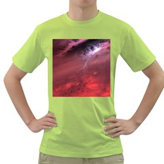 Storm Clouds And Rain Molten Iron May Be Common Occurrences Of Failed Stars Known As Brown Dwarfs Green T Shirt