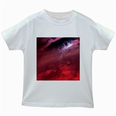 Storm Clouds And Rain Molten Iron May Be Common Occurrences Of Failed Stars Known As Brown Dwarfs Kids White T Shirts