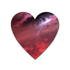 Storm Clouds And Rain Molten Iron May Be Common Occurrences Of Failed Stars Known As Brown Dwarfs Heart Magnet