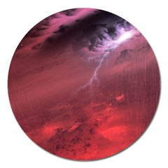 Storm Clouds And Rain Molten Iron May Be Common Occurrences Of Failed Stars Known As Brown Dwarfs Magnet 5  (round)