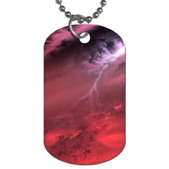 Storm Clouds And Rain Molten Iron May Be Common Occurrences Of Failed Stars Known As Brown Dwarfs Dog Tag (one Side)