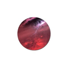 Storm Clouds And Rain Molten Iron May Be Common Occurrences Of Failed Stars Known As Brown Dwarfs Golf Ball Marker (4 Pack)