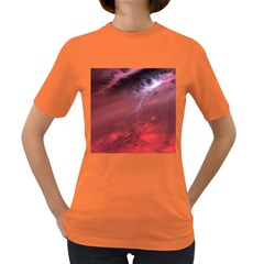 Storm Clouds And Rain Molten Iron May Be Common Occurrences Of Failed Stars Known As Brown Dwarfs Women s Dark T Shirt