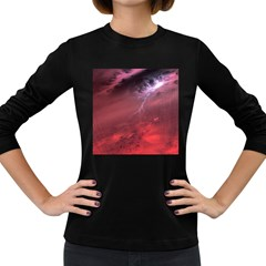 Storm Clouds And Rain Molten Iron May Be Common Occurrences Of Failed Stars Known As Brown Dwarfs Women s Long Sleeve Dark T Shirts