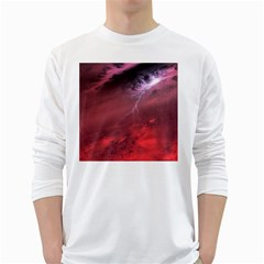 Storm Clouds And Rain Molten Iron May Be Common Occurrences Of Failed Stars Known As Brown Dwarfs White Long Sleeve T Shirts