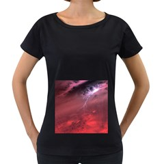 Storm Clouds And Rain Molten Iron May Be Common Occurrences Of Failed Stars Known As Brown Dwarfs Women s Loose Fit T Shirt (black)