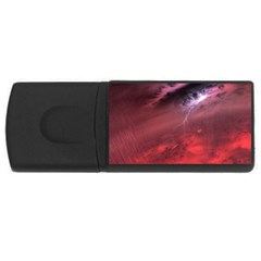 Storm Clouds And Rain Molten Iron May Be Common Occurrences Of Failed Stars Known As Brown Dwarfs Usb Flash Drive Rectangular (4 Gb)