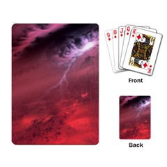 Storm Clouds And Rain Molten Iron May Be Common Occurrences Of Failed Stars Known As Brown Dwarfs Playing Card